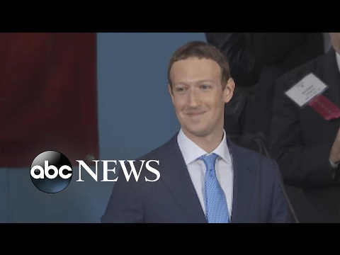 'GMA' Hot List: Mark Zuckerberg's commencement speech at Harvard