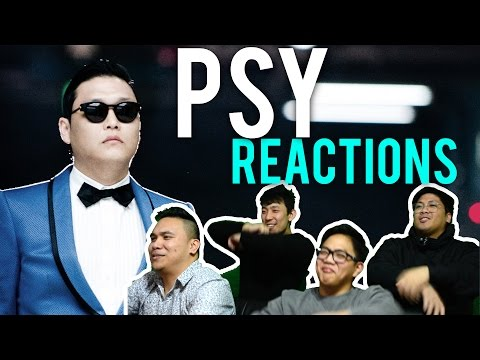 """PSY Has A """"NEW FACE"""" And """"I LUV IT"""" (MV Reactions)"""