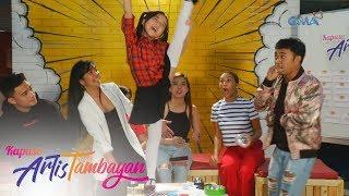 ArtisTambayan: Nar Cabico, nakipag-showdown kina Leanne Bautista at Samantha Lopez!