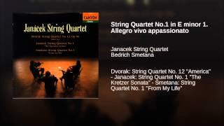 String Quartet No.1 in E minor 1. Allegro vivo appassionato