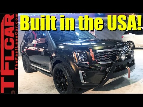 Surprise! 2020 Kia Telluride First Look: See It Inside and Out