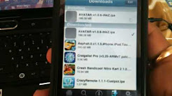 installing iphone app using DISK Aid It also works for AppVV