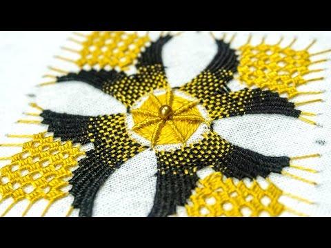 Hand Embroidery Designs: Bordado DIY Tutorial | HandiWorks#115