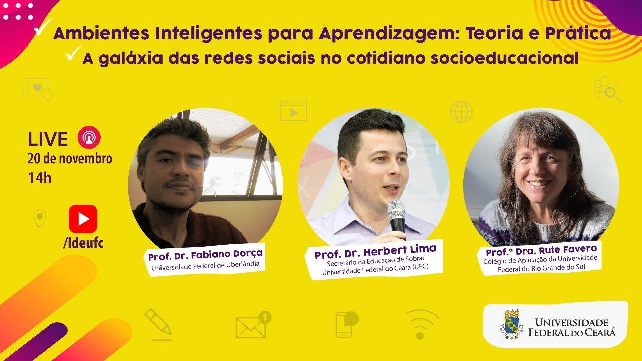[AULA 25] Ambientes Inteligentes para aprendizagem e redes sociais no cotidiano socioeducacional