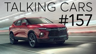 Video Tariff Trouble; 2019 Chevrolet Blazer | Talking Cars with Consumer Reports #157 download MP3, 3GP, MP4, WEBM, AVI, FLV Agustus 2018