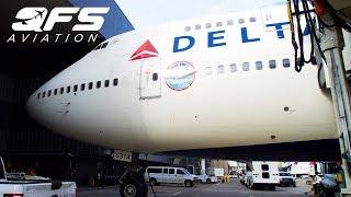 DELTA 747 RETIREMENT FLIGHT!!!