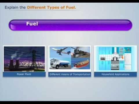 Types of Fuel and Combustion - Magic Marks