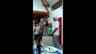 Le refuge chanson des Pyrénées chanté par les DUSSERM Edmond Duplan