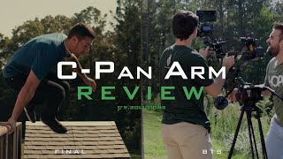 C-Pan Arm Review | A Unique Slider/Jib Combo from 9.Solutions