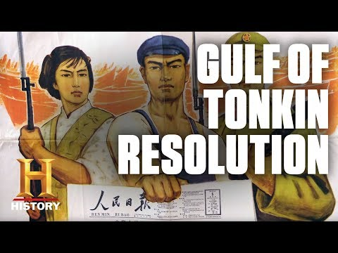 The Gulf of Tonkin Resolution   History