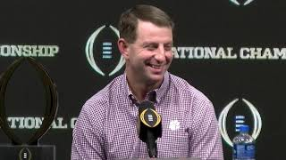2019 CFP winner press conference: Swinney, players