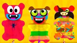 ЖЕЛЕЙНЫЙ МЕДВЕДЬ Котик Бубу ГОТОВКА ЧЕЛЛЕНДЖ Смешное видео для детей Мультик игра Virtual cat Bubbu