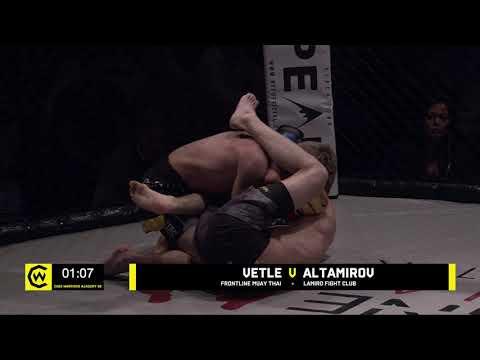 VETLE VS ALTAMIROV - 135lbs Amateur MMA Junior Title Contest #CWSE24