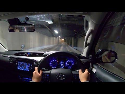 【Test Drive】2018 TOYOTA HILUX 2.4L Diesel 4WD - POV Night Drive