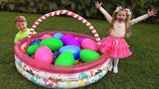 ديانا ولعبة البيضة العملاقة والمفاجأة