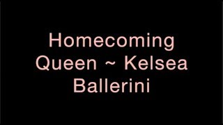 Homecoming Queen ~ Kelsea Ballerini Lyrics