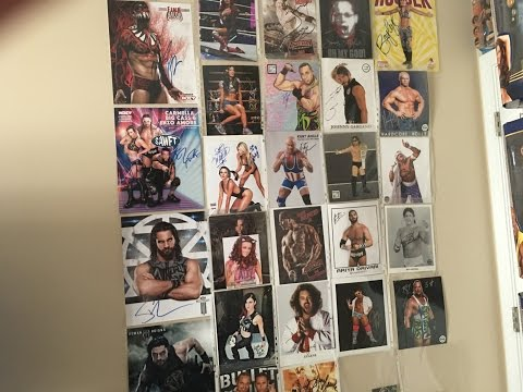 WWE AUTOGRAPH COLLECTION!
