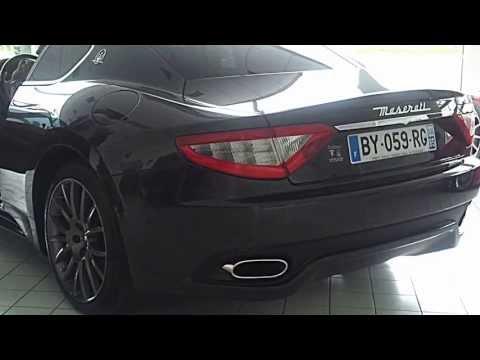 Démarrage Maserati GranTurismo S