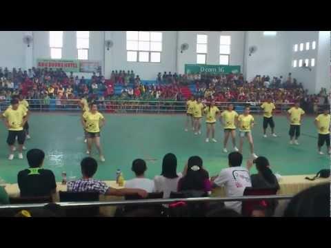 Aerobics  Lớp 12B9 (THPT Ninh Hải) năm 2012-2013! Vòng loại
