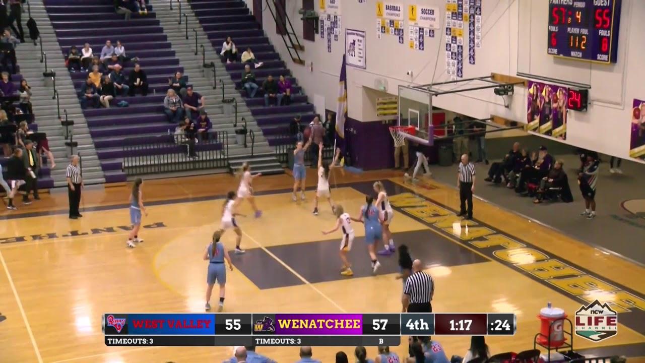 Wenatchee vs West Valley Girls 2020-02-11