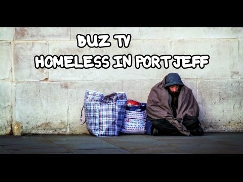 "BUZ TV - Episode 56 : ""Homeless In Port Jefferson Station - Long Island"""