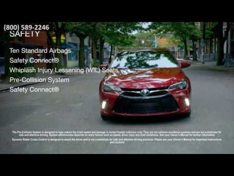 New 2017 Toyota Camry Safety Cain Toyota North Canton OH