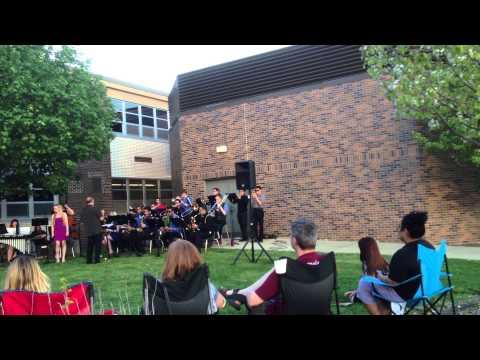 Jazz Concert 6.2013 Dundee Crown High School