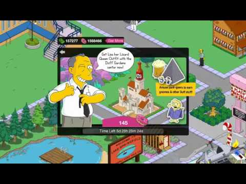 duff gardens simpsons tapped out