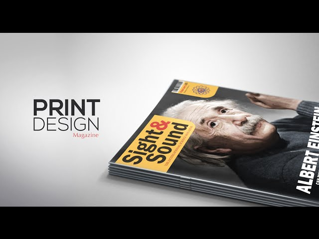 Print Design - Magazine Cover - Adobe Illustrator/Photoshop