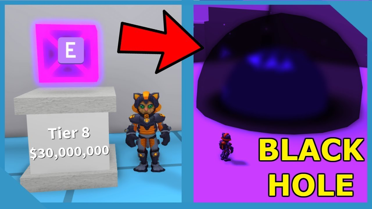 Buying the Black Hole Spell in Roblox Magic Simulator ...