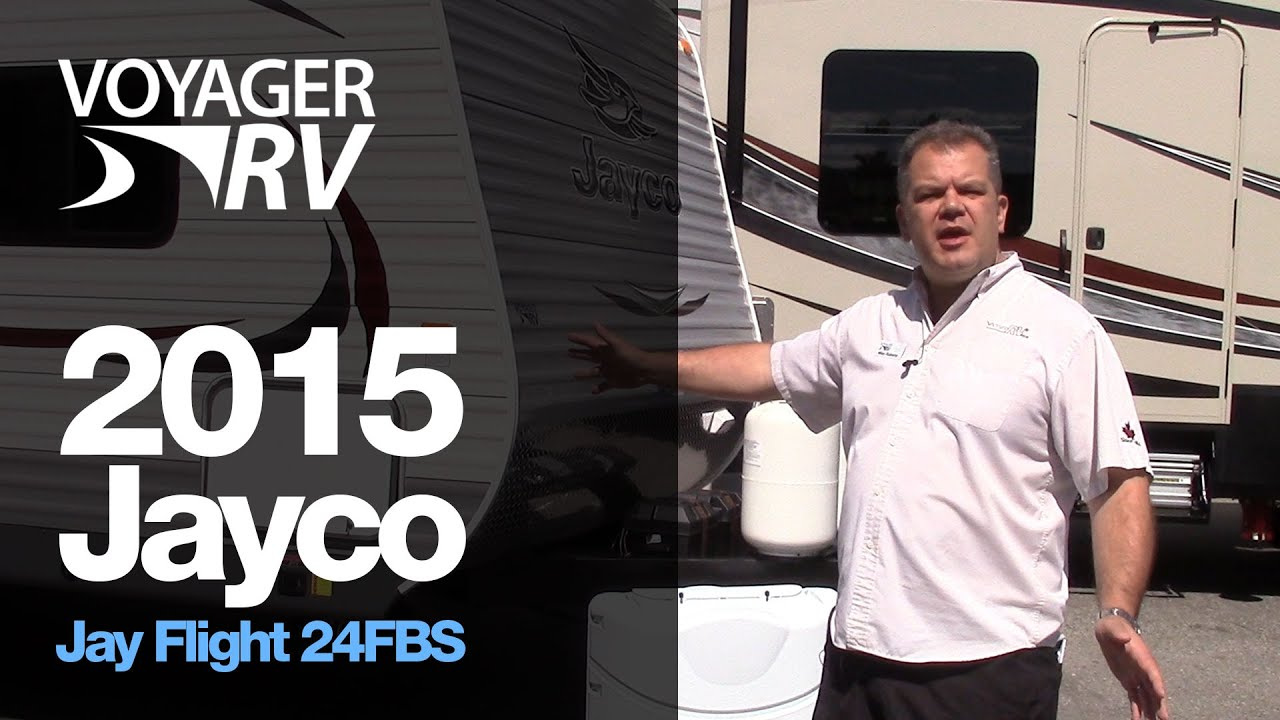 2015 Jayco Jay Flight 24FBS Elite Travel Trailer - Voyager ...