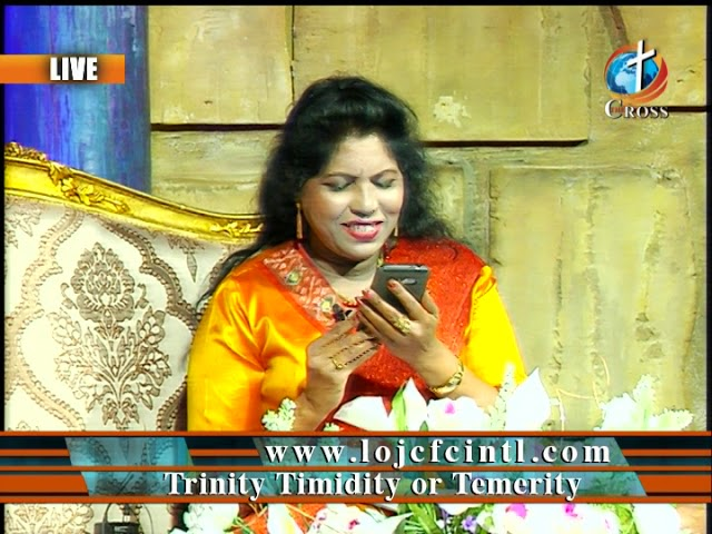 Trinity Timidity or Temerity Dr. Dominick Rajan 02-08-2019