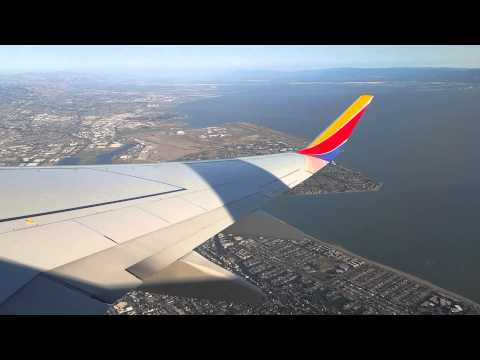Takeoff from Oakland International Airport [HD]
