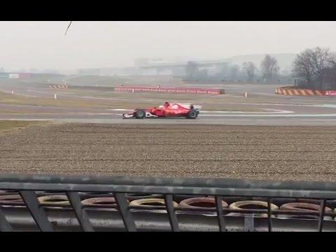 F1 2017 | Sebastian Vettel's very first lap in the Ferrari SF70H (24.02.17)
