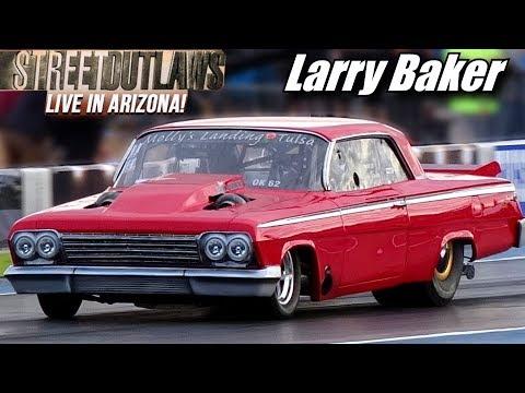 Street Outlaws Live Larry Baker Twin Turbo Impala Tucson Arizona