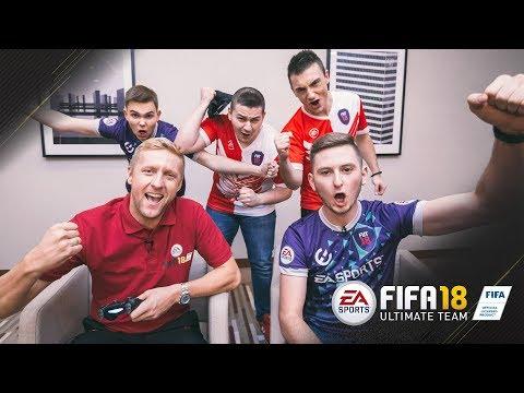 FIFA 18 Ultimate Team - Kamil Glik vs Junajted, Lachu, PLKD i Urbix - zapowiedź