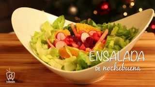 Ensalada De Nochebuena | Christmas Salad | Kiwilimón