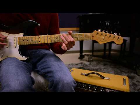 chill guitar cover - Fender Stratocaster (clean tone)