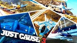 ALL PLANES IN JUST CAUSE 3 :: Just Cause 3 Epic Stunts