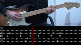 John Frusciante - Time tonight (Guitar lesson with TAB)