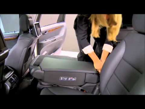 Mercedes Benz Instructional Video How To Fold Down Rear Seats Youtube