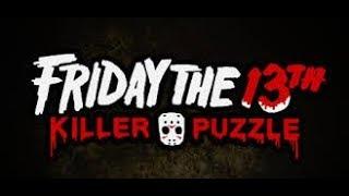 SOY JASON!! FRIDAY THE 13TH KILLER PUZZLE #1