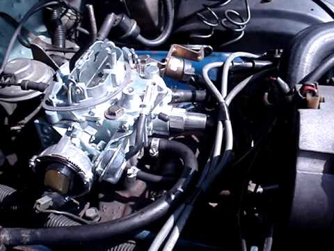 Engine 231 V6 Chevrolet Malibu 1981 & Carburetor Rochester Dualjet 210 remanufactured  YouTube