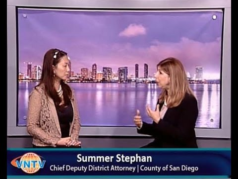 Human Trafficking Awareness with Summer Stephan: Chief Deputy District Attorney- County of San Diego