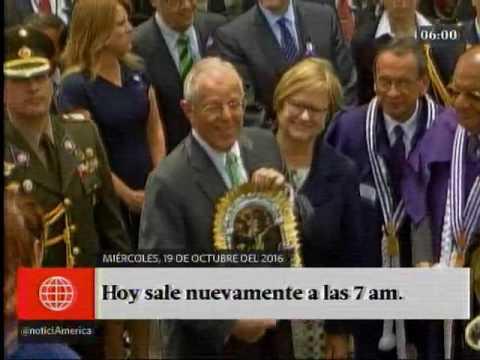 América Noticias: Primera Edición - 19.10.16