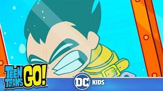 Teen Titans Go! | Robin's Impossible Escape Trick
