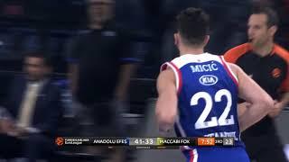 20.11.2018 / Anadolu Efes - Maccabi FOX Tel Aviv / Vasilije Micic