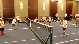 Tennis Games Orange Court. Part 6