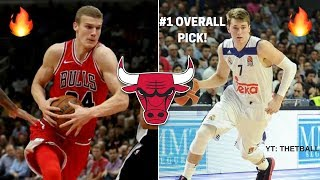 How Does Luka Doncic Fit With the CHICAGO BULLS? Duo With Lauri Markannen! | 2018 NBA Draft