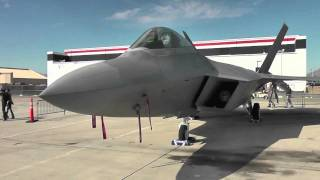 F-22 Raptor Jet Extreme Close-up Lockheed Martin [HD]
